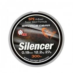 SG HD8 Silencer Braid 120m 0.28mm 17kg Green