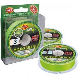 WFT Micro Braid kg chartreuse 150m 3,5kg 0,06mm