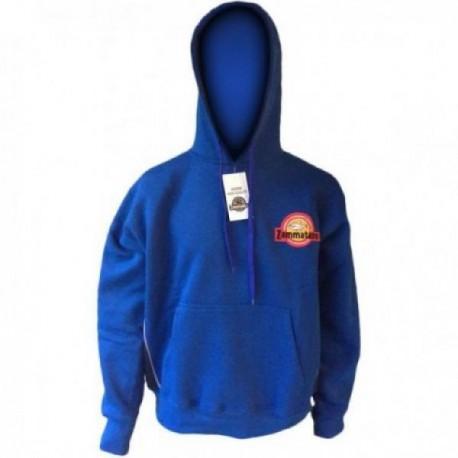 Hoody blau mit Rückenstick XL