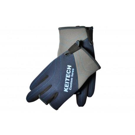 Neoprene Keitech Fishing Gloves LL