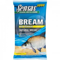 3000 NATURAL BREAM 1KG