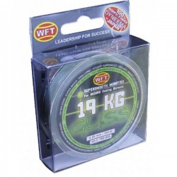 WFT GLISS chartreuse 150m 8KG 0,14mm