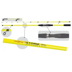 Fish2Fish «STORM» (2,10 m, fiberglass, 155 g, test: 100-200 g)