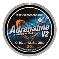 SG HD4 Adrenaline V2 120m 0.26mm 17.1kg Grey