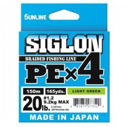 Sunline Siglon PE X4 150m (LG) 1,2 (9.2kg)/ 20LB (0.187mm)