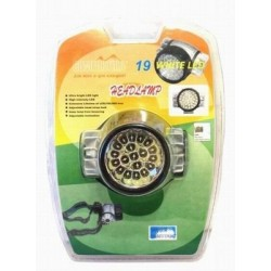 Head lamp COMFORTIKA F-19 (diods: 19, power source: 3 x AAA)