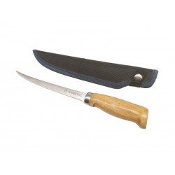 """KINETIC Nordic Fillet Knife 6""""/15cm tupega, puitkäepide"""