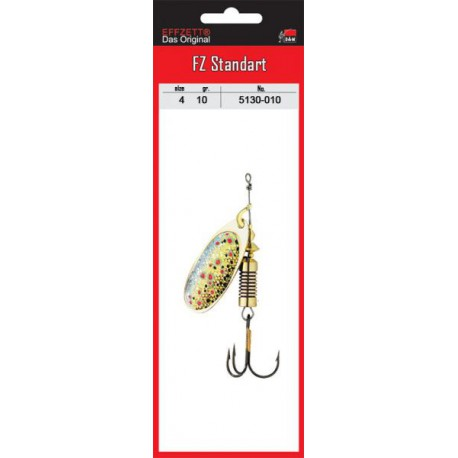DAM FZ NATURE 3D SPINNER Brown Trout _4 10g