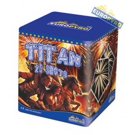 Titan, 25s Cake