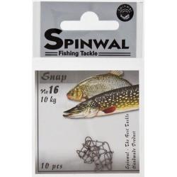 Spinwal Snap size 16 10kg 10pcs