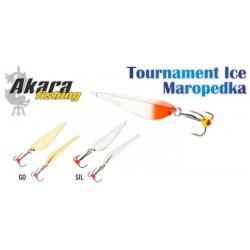 Ice Tournament «MAROPEDKA» (75 mm, 11,5 g, color: GO)