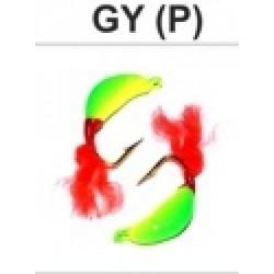 «PJARNU» Plastic Fly (fly) (5 mm, g, colour: GY (P))