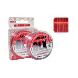 AK «GLX Ice Red 30» (mono, 30 m, 0,10 mm, 1,40 kg)