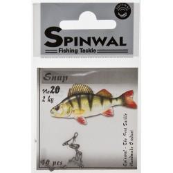 Spinwal Snap size 20 2kg 10pcs